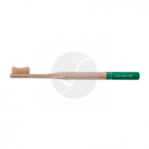 Cepillo dental de bambú adulto verde Eco Naturbrush