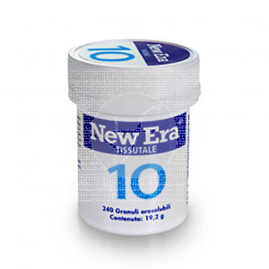 Natrium Sulfuricum Nr10 240 comprimidos Schussler New Era