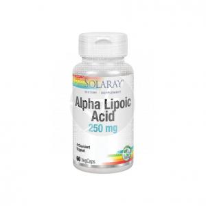 Acido Alfa Lipoico 250Mg 60 capsulas Solaray