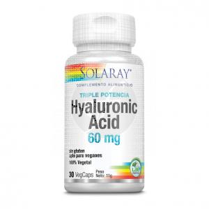 Acido Hialuronico Cap 60Mg Solaray