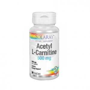 Acetil L-Carnitina 500Mg Solaray