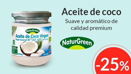 Abril - Aceite de coco Naturgreen