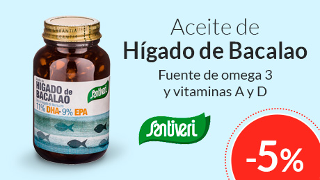 Abril - Aceite de hígado de bacalao Santiveri