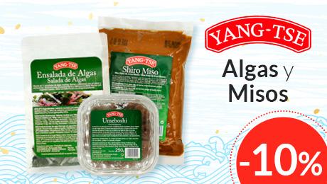 Agosto 2019 - Algas y misos Yeng Tse