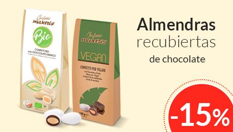 Enero- Almendras con chocolate Maxtris