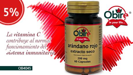 Agosto 2019 - Arándano rojo Obire
