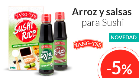 Abril - Arroz y salsas para Sushi Yang-Tse