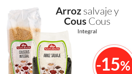 Mayo - Arroz y cous cous Natursoy