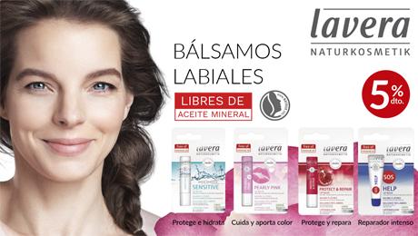 Enero- Bálsamos labiales Lavera