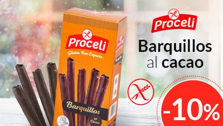 Diciembre 2019 - Barquillos al cacao Proceli