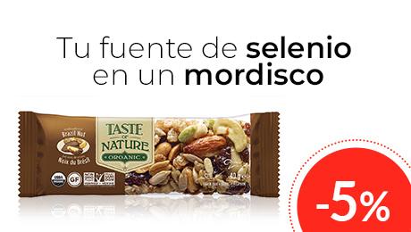 Febrero- Barritas de nueces y cereales Taste of Nature