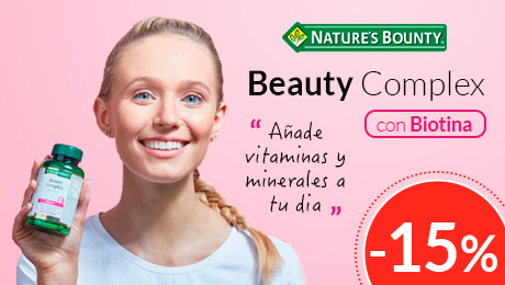 Junio 2019 - Beauty complex con biotina - Nature's Bounty
