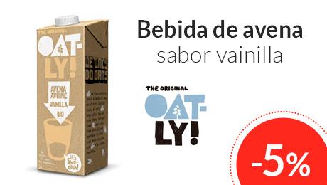 Abril - Bebida de avena sabor vainilla Oatly