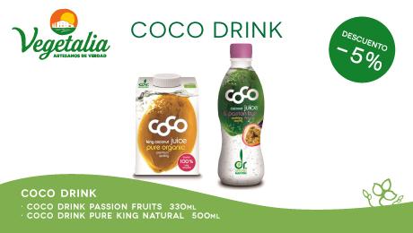 Julio- Oferta nuevas bebidas de coco dr Martins