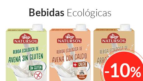 Enero- Oferta bebidas vegetales Natursoy
