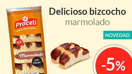 Septiembre - Bizcocho marmolado Proceli