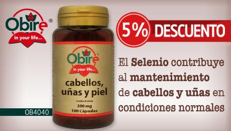 Septiembre - Cabello uñas piel Obire