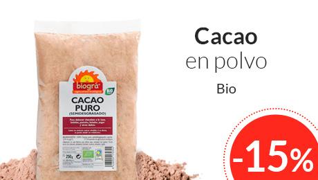 Octubre - Cacao en polvo biogra