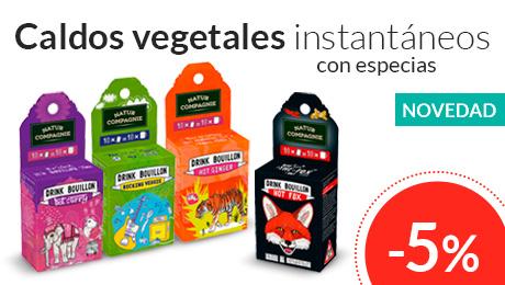 Mayo - Caldos vegetales instantáneos Natur Compagnie