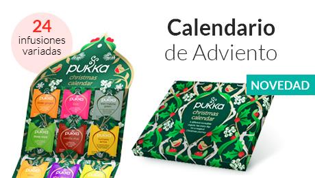 Novedad- Calendario adviento infusiones Pukka