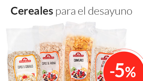 Julio - Cereales Natursoy