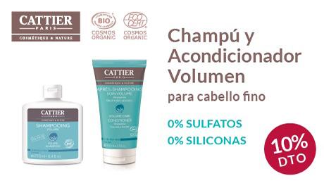 Mayo - Champú y acondicionador volumen Cattier