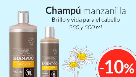 Enero- champú manzanilla Urtekram