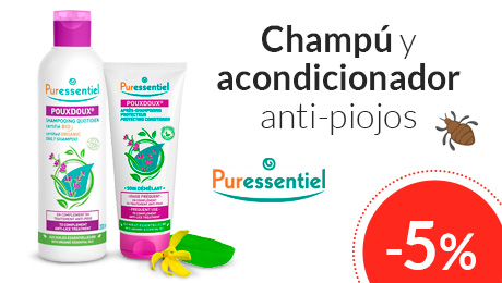 Abril - Champú y acondicionador anti-piojos Puressentiel