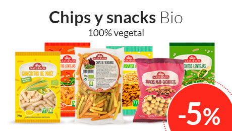 Junio - Chips y snacks Natursoy