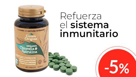 Febrero- Clorella y espirulina Green Origins