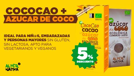 Febrero- Cococao y azucar de coco Alternativa 3