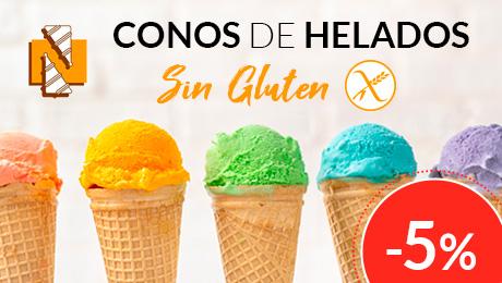 Agosto 2019 - Conos para helados sin gluten Nocciolcono