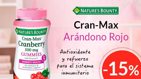 Julio 2019 - Cran Max Nature's Bounty