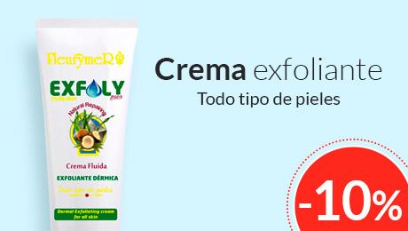 Junio - Exfoly crema exfoliante Fleurymer