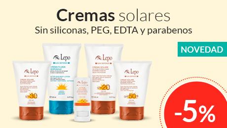 Mayo - Cremas solares Lepo