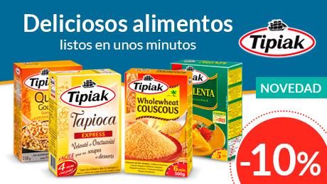 Septiembre - Cuscús y quinoas precocinadas Tipiak