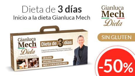 Dieta 3 días Gianluca Mech