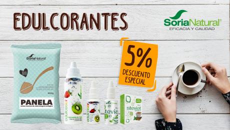 Abril - Edulcorantes Soria Natural