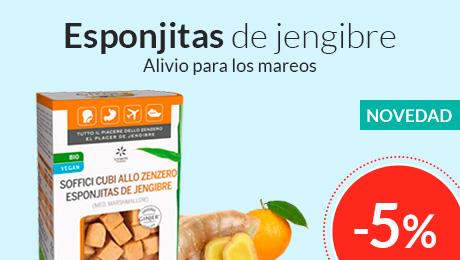 Julio - Esponjitas jengibre Lemon Pharma