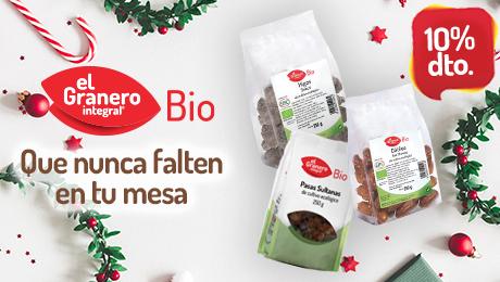 Diciembre 2019 - Frutos secos bio Granero Integral