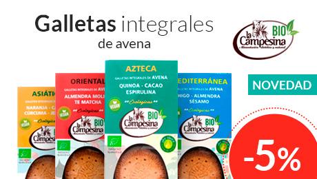 Abril - Galletas integrales La Campesina