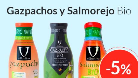 Julio - Gazpachos y salmorejo Villaolivo