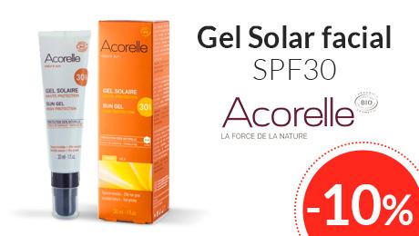 Marzo - Gel solar spf30 Acorelle
