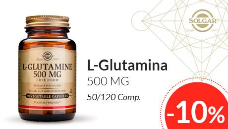 Abril - Glutamina Solgar