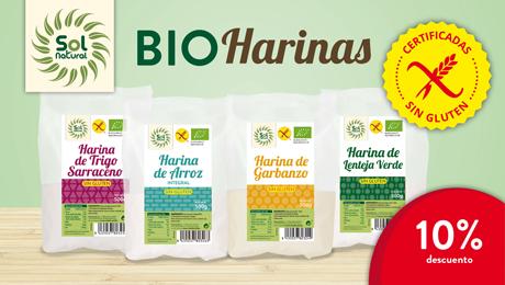 Agosto 2019 - Harinas sin gluten Sol Natural
