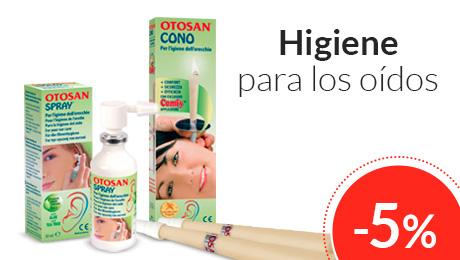 Julio - Higiene para los oidos Otosan