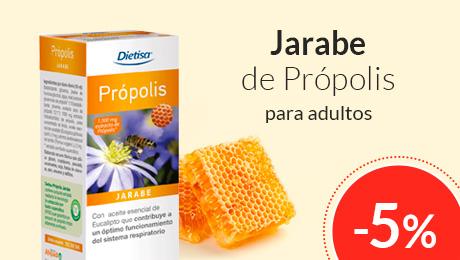 Octubre - Jarabe própolis Dietisa