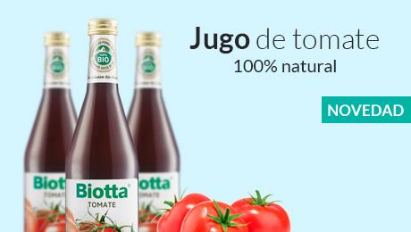 Noviembre- Jugo de tomate Biotta