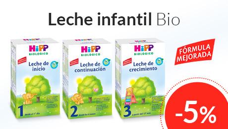 Abril -  Leches infantiles Bio Hipp