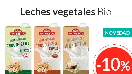 Julio - Leches vegetales Natursoy